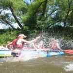 Floßbau Sommerferien