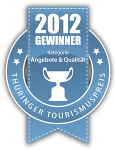Thüringer Tourismuspreis 2012